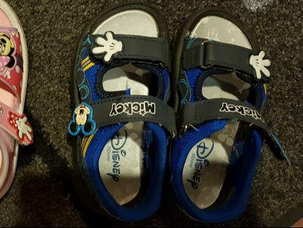 Mickey Mouse boy shoes