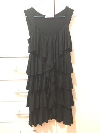 🇨🇦黑色連身裙蛋糕裙