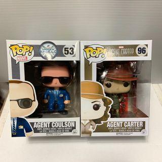 Funko Pop - Agent Coulson & Agent Carter (Marvel - Avengers)