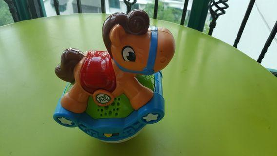 Leap frog  rock horse toy