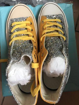 🚚 Converse 1970大眼睛亮片帆布鞋