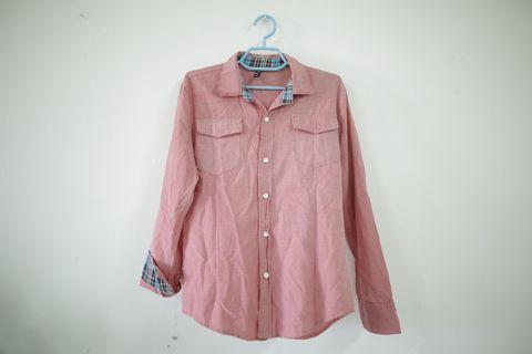 Prelove - Baju Kemeja Vintage (M)