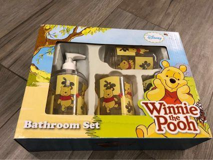 Winnie the pooh (Bathroom Set)