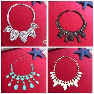 🚚 Statement Necklaces Chokers