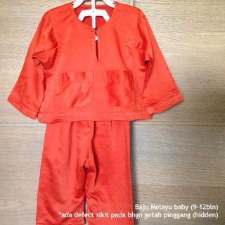 Baju Melayu Baby (saiz 4-18 bulan) #AEONShahAlam