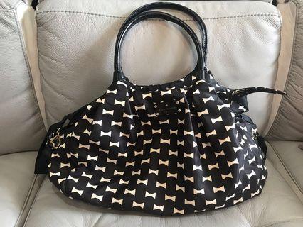 Kate spade ori monochrome bag bisa untuk tas bayi diaper bag