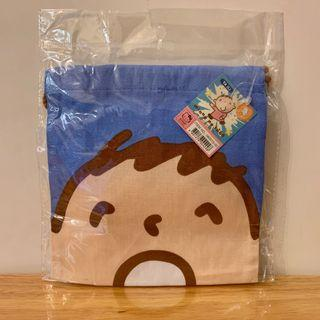 Sanrio 全新大口仔索繩袋 / 100% New minna no tabo Drawstring Bag