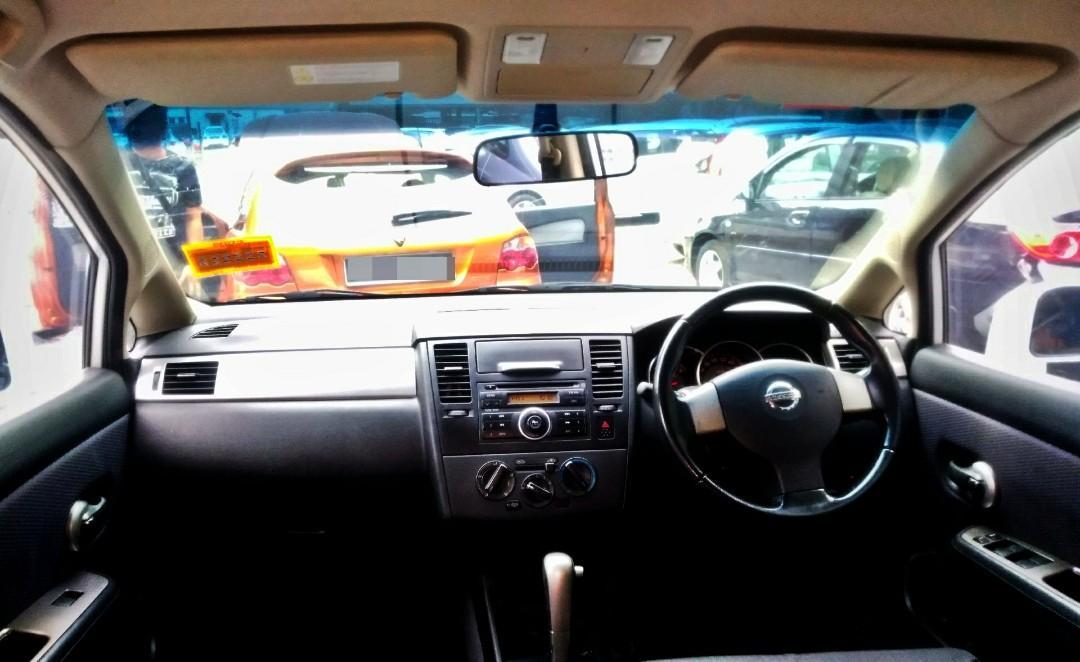 2009 Nissan LATIO SPORT 1.6 (A) IMPUL muka 3990 LOAN KEDAI KERETA.