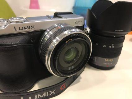 LUMIX GX7 with 20mm F1.7 & 14-45mm F3.5-5.6 package