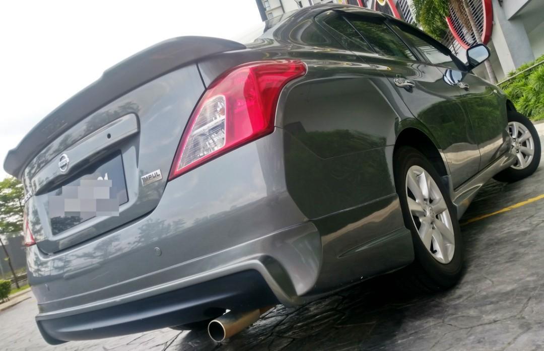 2013 Nissan ALMERA 1.5 (A) IMPUL dp 4990 LOAN KEDAI KERETA.