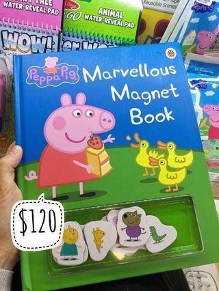 Peppa pig 磁石書