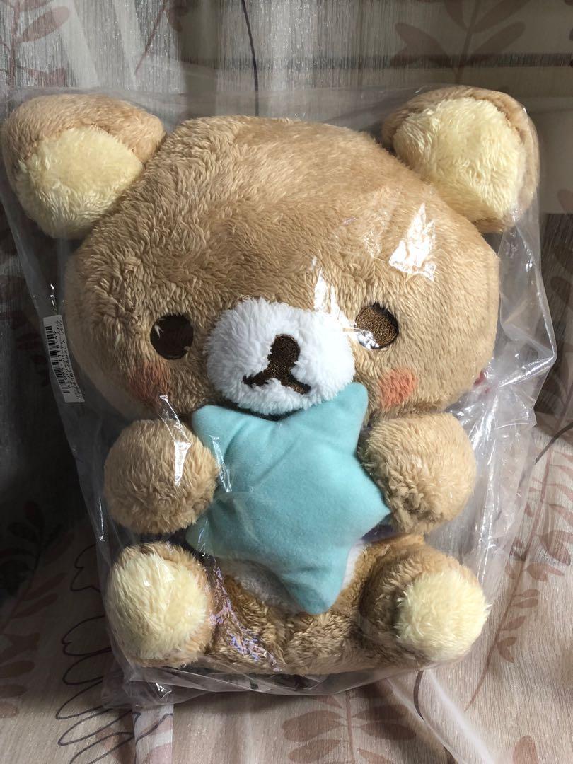 2019年新版 Rilakkuma 手抱星星 鬆弛熊 輕鬆熊