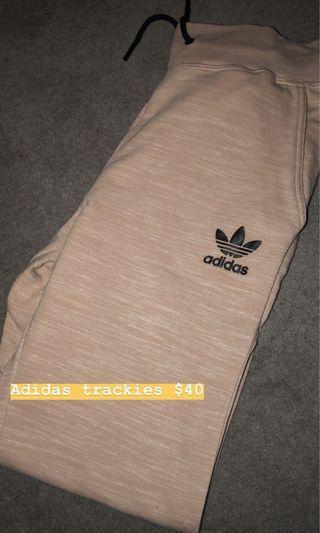 Adidas nude trackies