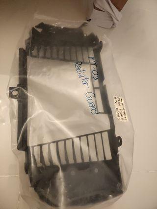 Yamaha MT03 Original Radiator Guard