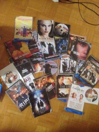 DVD Collection (200 Hollywood blockbuster movies)