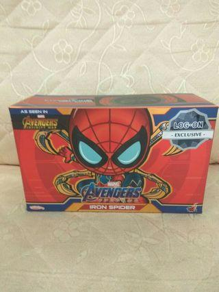 Log-on exclusive Cosbaby iron spider