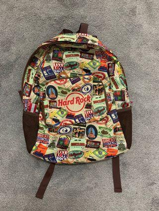 Hard Rock Foldable Backpack