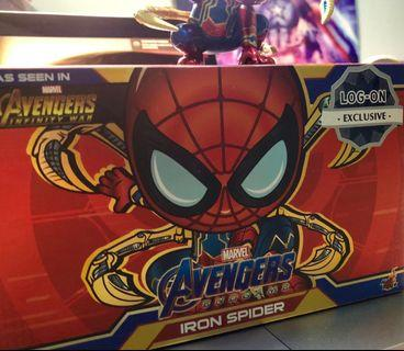 Iron spider logon x hot toys cosbaby x3