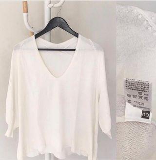 White Knit GU