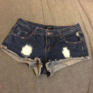 Forever 21 牛仔短褲