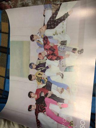 🚚 WTS: BTS PERSONA (Album, Poster, Frame)
