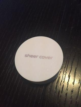 Sheer cover bronzer