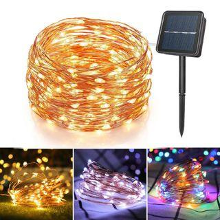 Solar Powered 200 LEDs String