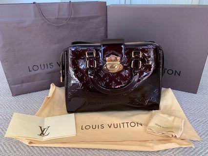 Louis Vuitton Amarante Vernis Melrose Avenue Bag