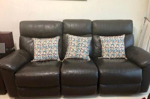 Recliner sofa 3 + 2