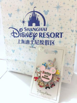 SH Disneyland DisneyPark Collection duffy and friends pin