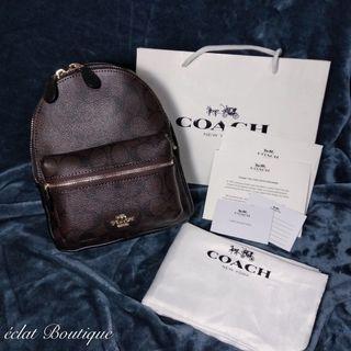 COACH mini後背包(logo款)