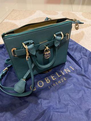 Gobelini green bag
