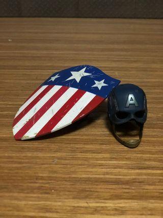 Hot toys captain America helmet shield