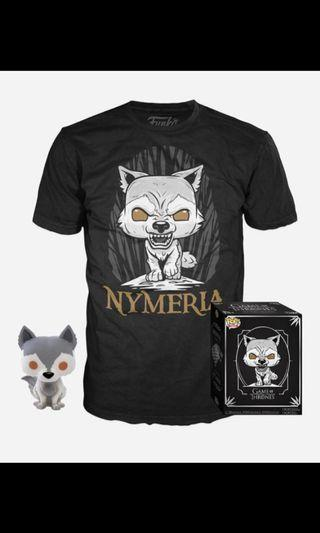 Funko Pop Nymeria with The shirt size S