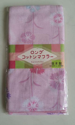 日本製綿圍巾