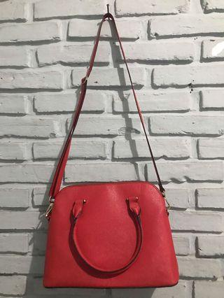 H&M red bag
