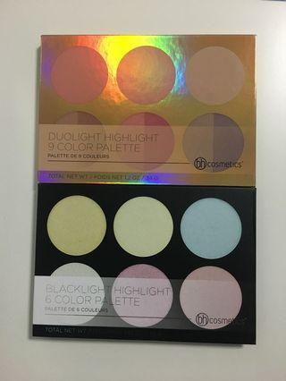 BH Cosmetics Highlighter Palettes