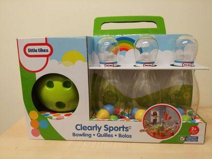 Little Tikes Clearly Sport Bowling Set