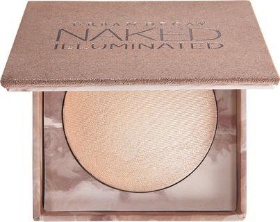 Naked Illuminated Shimmering Powder For Face And Body  - Luminous