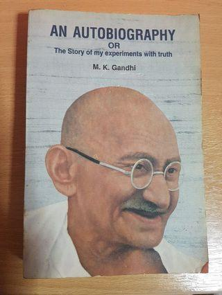🚚 An autobiography: the story of my experiments with truth - M.K. Gandhi
