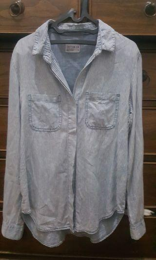 COTTON ON Denim Stripe Shirt