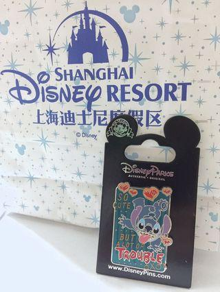 SH Disneyland Stitch Pin