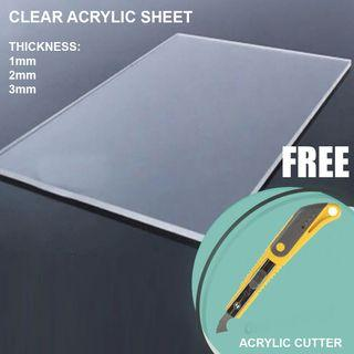 Acrylic Sheet and Acrylic Cutter