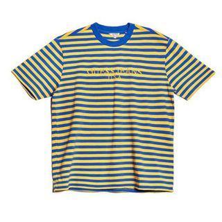 Small Guess X ASAP Rocky David Reactive T-Shirt Yellow/Blue