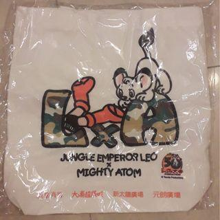 """Jungle Emperor Leo X Mighty Atom""  Tote bag 38X38cm $25 包郵"