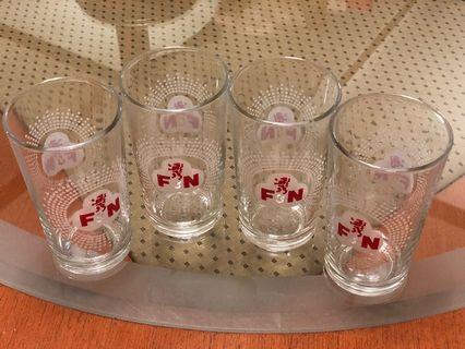 Vintage Collection original F&N glass -set of Four