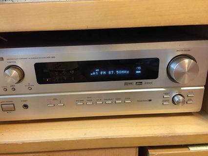 天龍AV amp 有remote 連AR喇叭一對