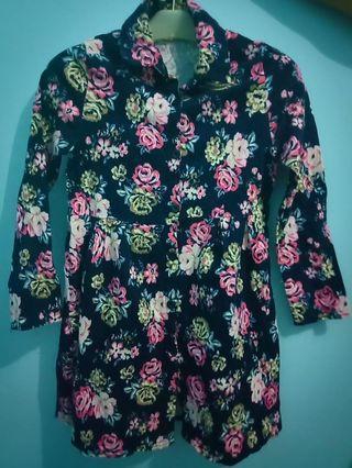 Flowery workshirt