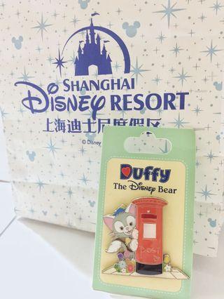 SH Disneyland Duffy The Disney Bear-Gelatoni pin