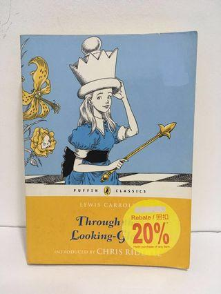 Through the Looking Glass by Lewis Carroll (English Book, English Book, Storybook, English Fiction) #APR10